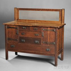 L. & J.G. Stickley Arts & Crafts Sideboard