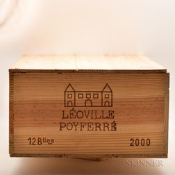 Chateau Leoville Poyferre 2000, 12 bottles (owc)