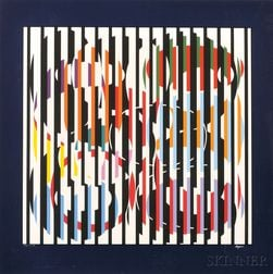 Yaacov Agam (Israeli, b. 1928)      END TO END   Suite