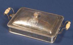 George III Silver Lidded Chafing Dish