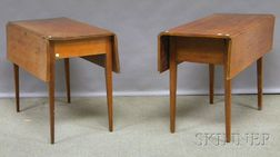 Two Federal Drop-leaf Tables