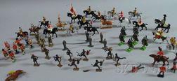 Britains Ltd.,  French, and Other Painted Lead Toy Soldiers