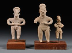 Three Tlatilco Figures
