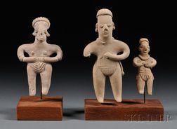 Three Tlatilco Figures