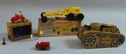 Four Tin Toy Vehicles