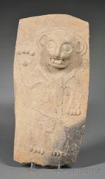 Pre-Columbian Pottery Fragment