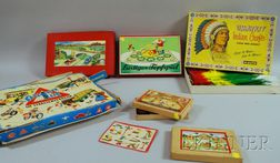Six Mostly German Board Games