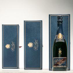 Pol Roger Winston Churchill 1996, 3 bottles (individual ogb)