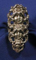 Art Nouveau Sterling Silver Ring
