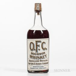 OFC Whiskey 10 Years Old 1909, 1 quart bottle