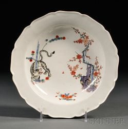 Chamberlain's Worcester Porcelain Shallow Bowl
