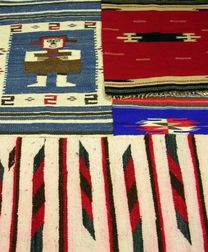 Four Small Native American Southwest Weavings.