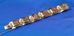 Retro 14kt Gold Bracelet