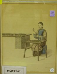 Two Framed Chinese-style Prints.