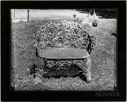 Walker Evans (American, 1903-1975)       Two Works: Studies of Iron Garden Chairs