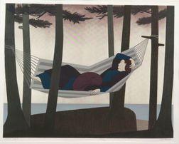 Will Barnet (American, b. 1911)    Summer Idyll