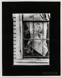 Walker Evans (American, 1903-1975)       Political Poster, Massachusetts Village