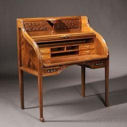 Art Nouveau Roll-top Desk