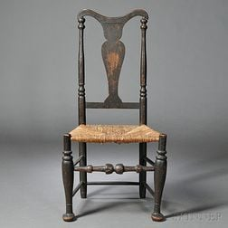 Brown-painted Side Chair