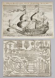 Three Early Maritime Prints