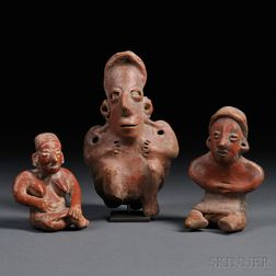 Three Jalisco Female Figures