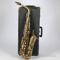 Alto Saxophone, Selmer Mark VI, 1965