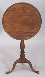 Queen Anne Mahogany Tilt-top Candlestand
