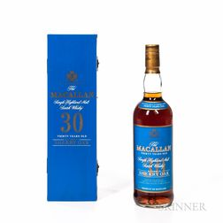 Macallan 30 Years Old, 1 750ml bottle (owc)