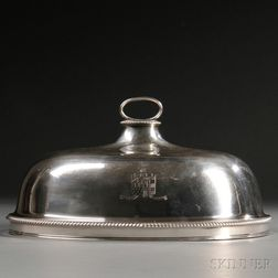 George III Sterling Silver Roast Cover