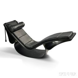 Oscar Niemeyer (1907-2012) Rocking Chaise