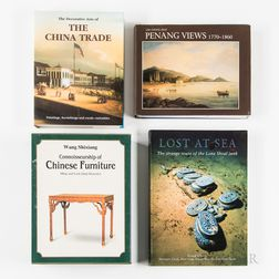 Large Collection of Reference Books, Catalogs, and Monographs on the China Trade