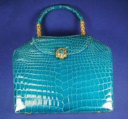 Lizard Handbag, Lana Marks