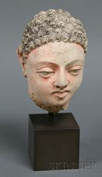 Stucco Head of Buddha