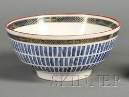 Worcester Porcelain Music Pattern Bowl