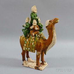 Sancai-glazed Tang-style Pottery Camel