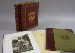 Four Late 19th Century Art Books/Folios