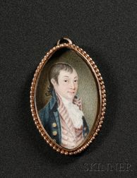 Portrait Miniature of Colonel Dudley Coleman (1745-1797)