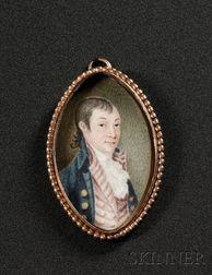 Portrait Miniature of Colonel Dudley Coleman (1745-1797)