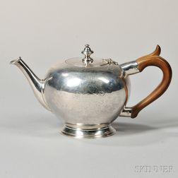 Georgian Sterling Silver Teapot