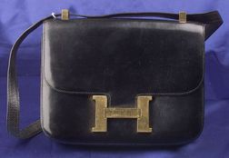 Vintage Black Box Leather