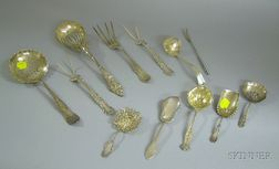 Twelve Sterling Flatware Items