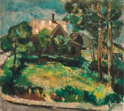 Bruce McKain (American, 1900-1990)    House in Summer