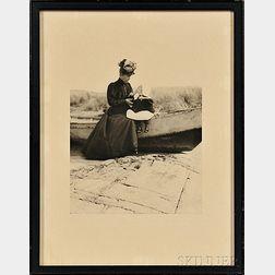 Cassatt, Mary (1844-1926) Photographic Portrait.