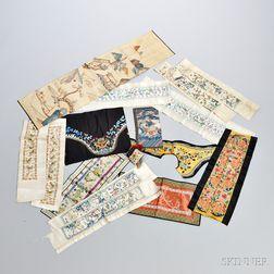 Approximately Seventeen Textile Fragments
