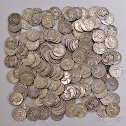 Large Group of Mostly U.S. Silver Coins