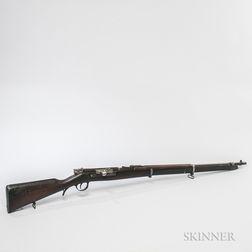 Kropatschek Mauser Model 1886 Bolt-action Rifle