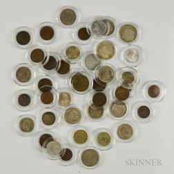 Forty-one Austrian and Hungarian Coins