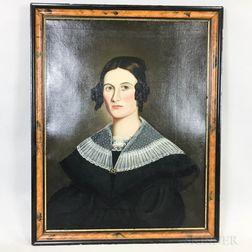 American School, 19th Century       Portrait of a Woman