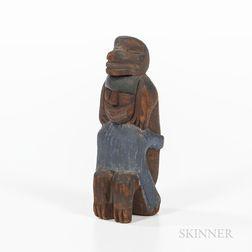 Northwest Coast Bear/Human Figure