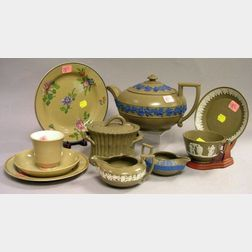 Ten Pieces of Wedgwood Drabware